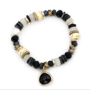 Black natural bracelet